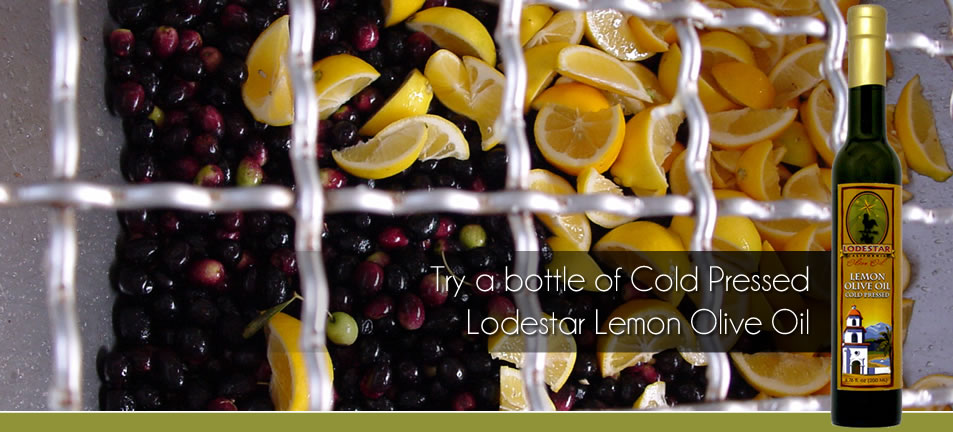 Try a Bottle of Cold Pressed Lodestar Lemon Olive Oil