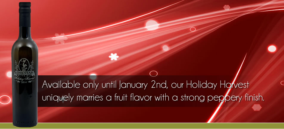 Available only until January 2nd, our Holiday Harvest uniquely marries a fruit flavor with a strong peppery finish.